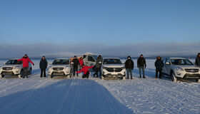 Hybrid DT2 tested on toughest winter terrains of Sweden.