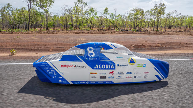 Punch Powertrain provides technical support to Belgian Solar Team